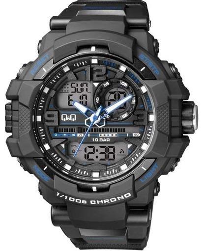 Мужские японские наручные часы qq qa46-204