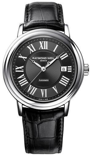Фото швейцарских часов Мужские швейцарские наручные часы Raymond Weil Maestro 2847-STC-00209