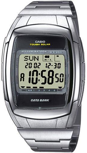 Фото японских часов Мужские японские наручные часы Casio Data Bank DB-E30D-1
