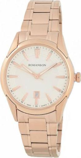 ROMANSON DL9782SLWGR часы наручные женские купить в