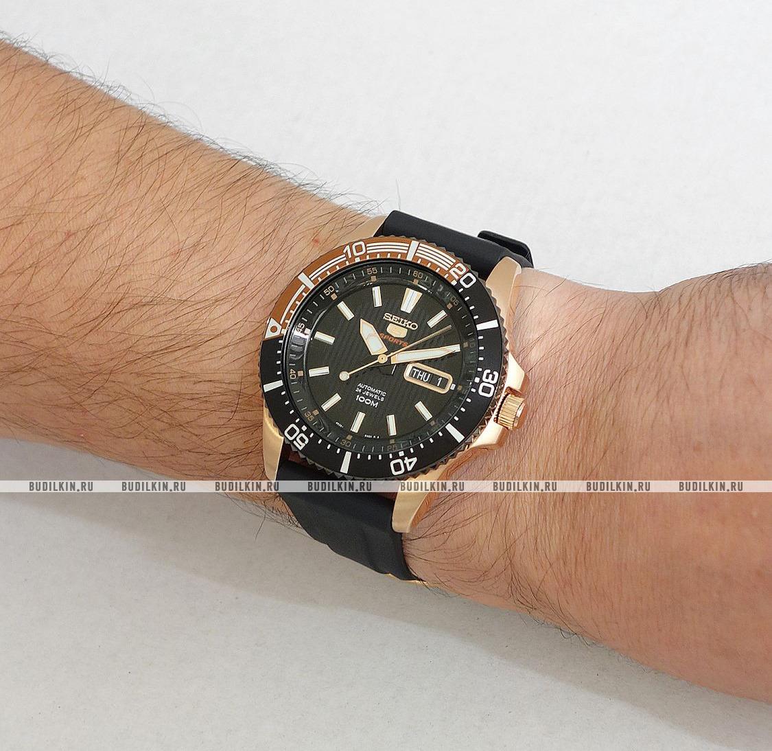 Фото японских часов Мужские японские наручные часы Seiko Automatic with Hand-winding SRP560K1