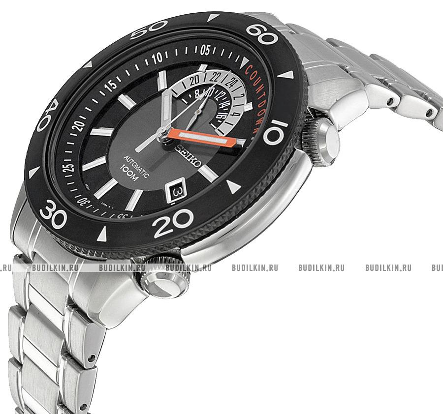 Фото японских часов Мужские японские наручные часы Seiko Automatic 24-hour hand SSA183K1