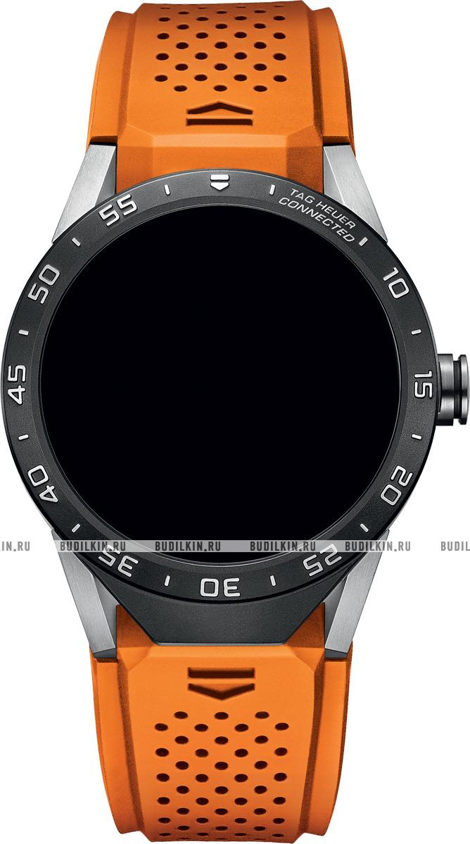 FT6061 Фото швейцарских часов Мужские швейцарские наручные часы Tag Heuer Connected SAR8A80