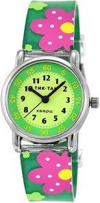 Тик-Так Н101-1 Зеленые цветы