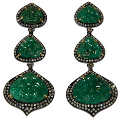 Серьги Vintage Gems ING-111