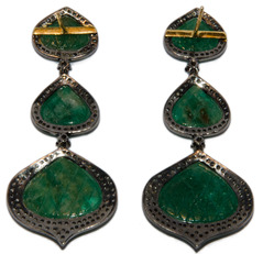 Фото Серьги Vintage Gems ING-111