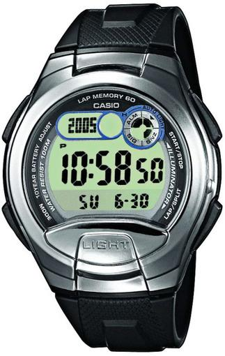 Фото японских часов Мужские японские наручные часы Casio Standard Digital W-752-1A