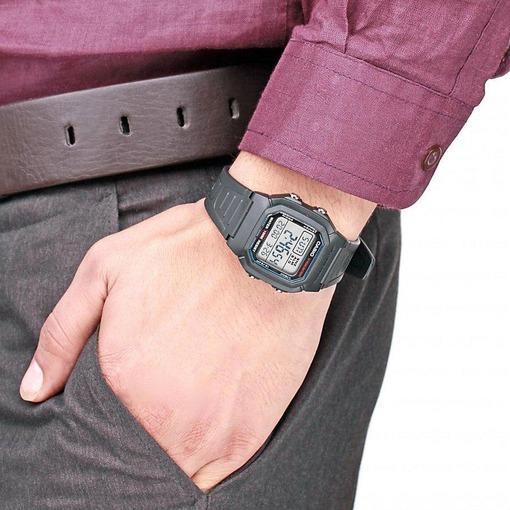 Фото японских часов Мужские японские наручные часы Casio Standard Digital W-800H-1A