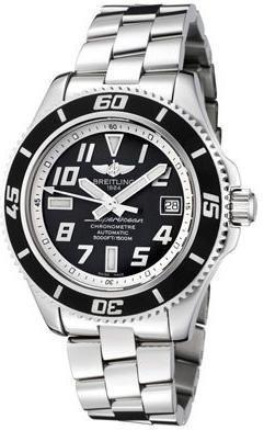 Фото швейцарских часов Мужские швейцарские наручные часы Breitling AEROMARINE A1736402/BA29/131A