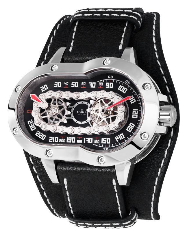 Купить мужские наручные часы НИКА Exclusive МотоLine 1160.0.0.52A по ... fba6785ab20