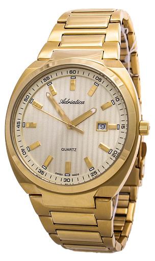 bd85e3039aa0 Купить мужские наручные часы Adriatica Gents Bracelet A1105.1111Q по ...