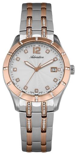 ecc35e04ccc0 Купить женские наручные часы Adriatica Ladies Zirconia A3419.R173QZ ...