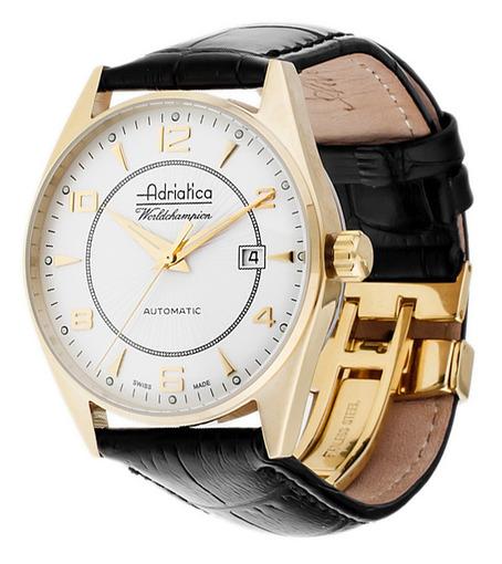 352f2289c01b Купить мужские наручные часы Adriatica Gents Automatic A8142.1253A ...