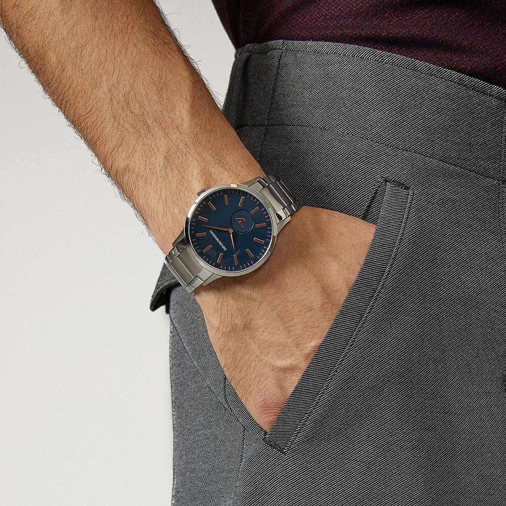 564e4393a0c3 ... Мужские швейцарские наручные часы Emporio Armani Renato AR11137