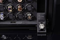 Фото Шкатулка для часов Buben&Zorweg COLLECTOR 16 Carbon