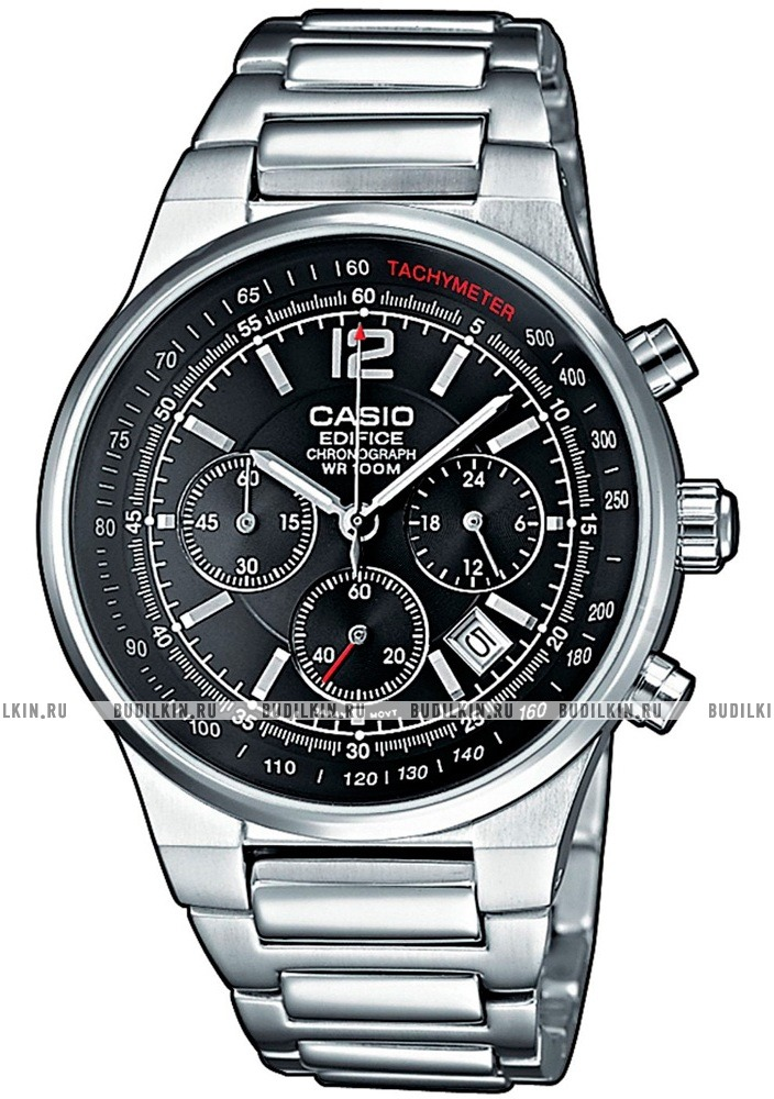 Купить мужские японские наручные часы Casio EF-500D-1A по цене 7190р ... e1340cb0727