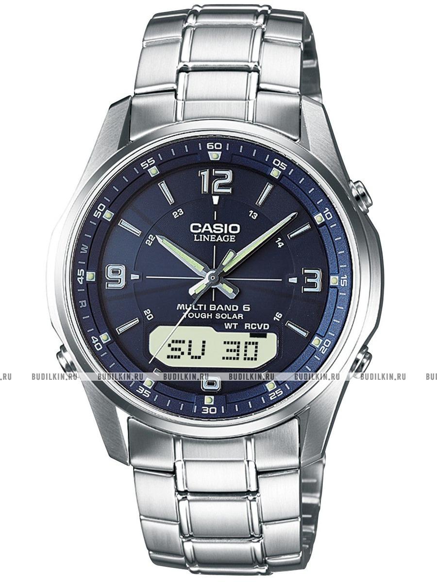 Купить мужские японские наручные часы Casio Lineage LCW-M100DSE-2A ... 1946b31be9f