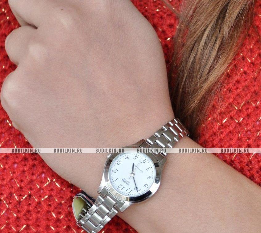35ecf2d6 Casio Standard LTP-1128PA-7B - купить часы по цене 2960 рублей ...