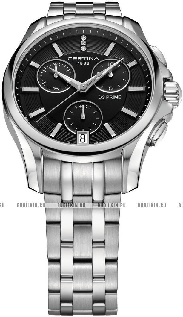 Женские швейцарские наручные часы Certina DS Prime Chronograph  C004.217.11.056.00 ... 9abbbf5605b