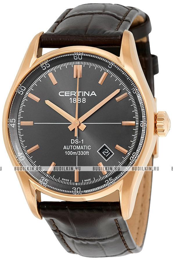 Фото швейцарских часов Мужские швейцарские наручные часы Certina DS 1  Automatic C006.407.36.081.00 ... 9276c3dbce4