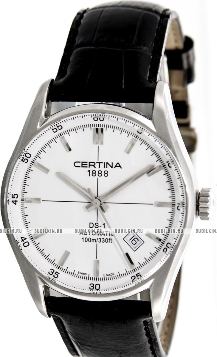 Купить мужские швейцарские наручные часы Certina DS-1 C006.407.16 ... 59223c3fdac