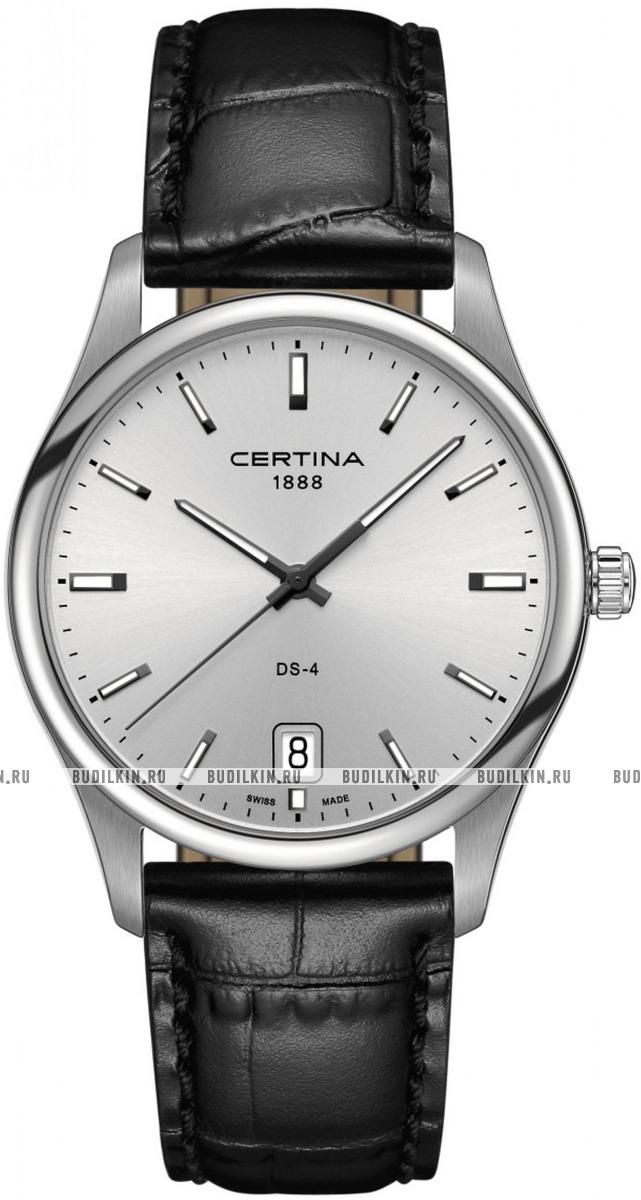 Мужские швейцарские наручные часы Certina DS 4 Big Size C022.610.16.031.00  ... cd597e17c43