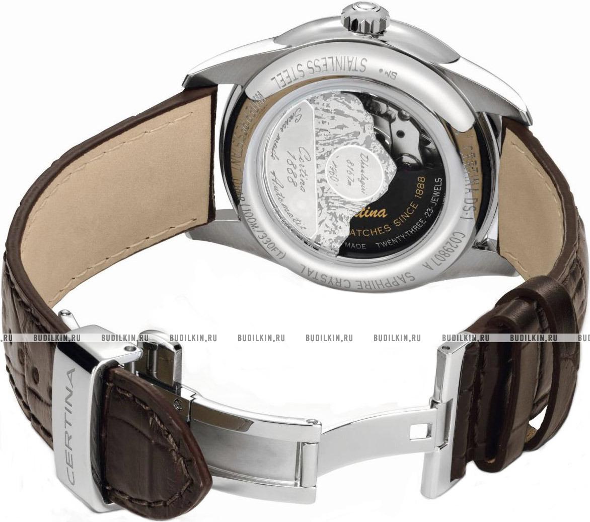 ... Мужские швейцарские наручные часы Certina DS-1 Powermatic 80  C029.807.16.031.60 ... afc543f39d0