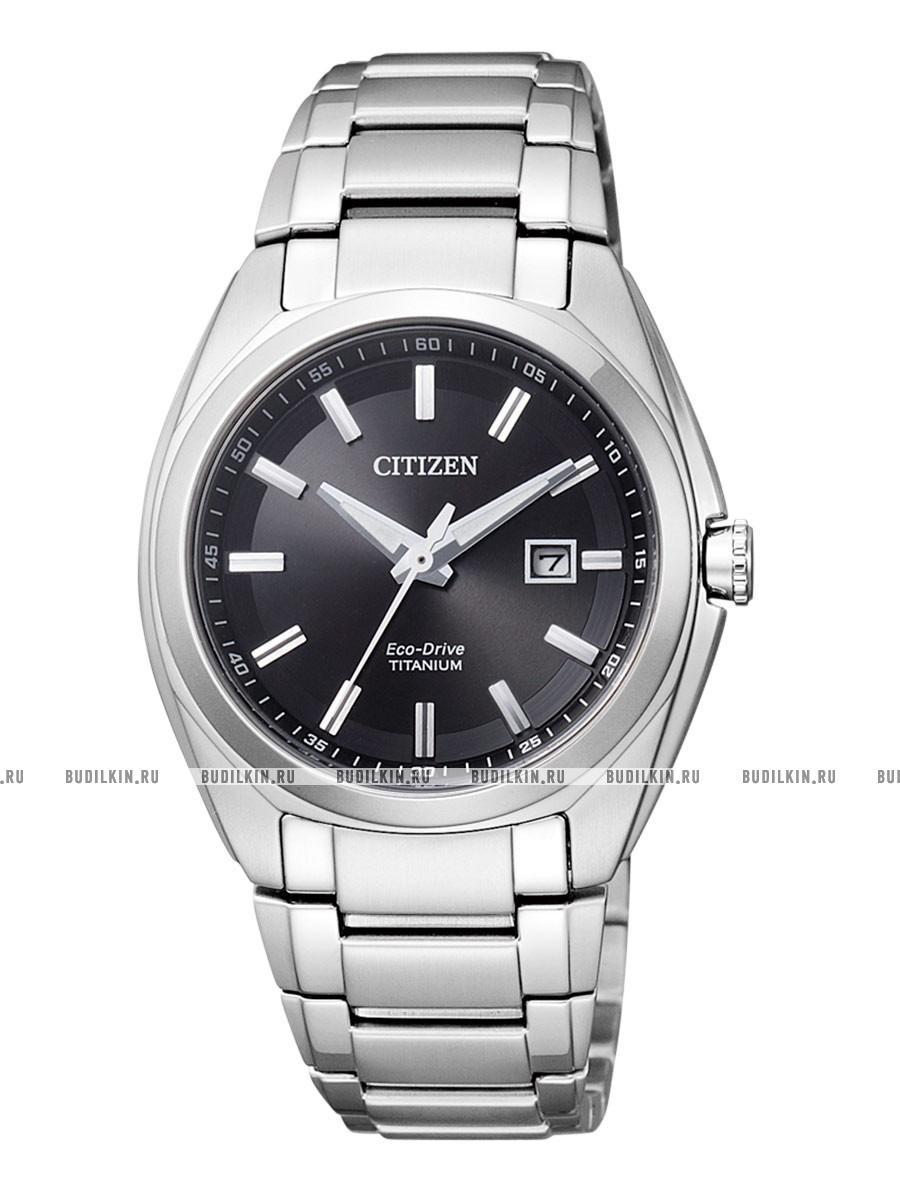 Купить женские японские наручные часы Citizen Super Titanium EW2210 ... 93250094953
