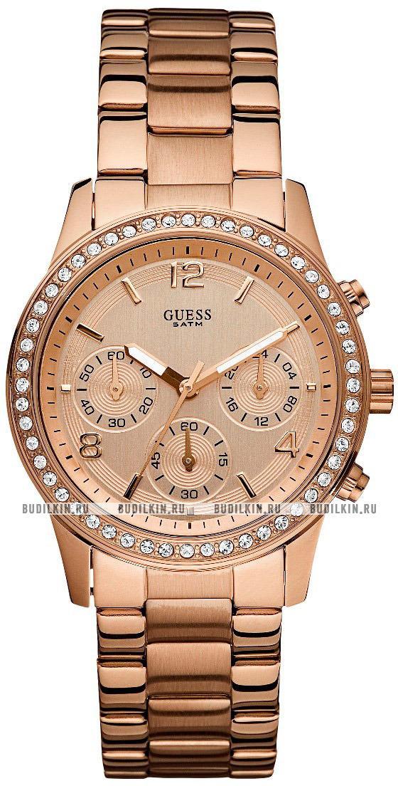 125a8ac92d57 Купить женские швейцарские наручные часы Guess Sport Steel W0122L3 ...