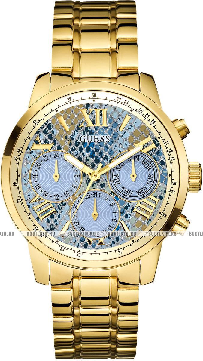 86f15c8e5c82 Купить женские швейцарские наручные часы Guess Sport Steel W0330L13 ...
