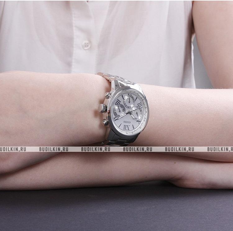 Купить женские швейцарские наручные часы Guess Sport Steel W0330L3 ... 4ca489fa56d96