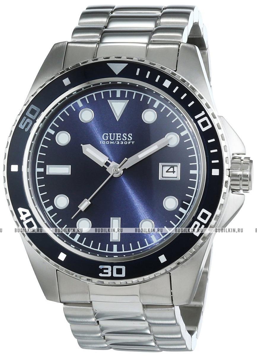 Купить мужские швейцарские наручные часы Guess Sport Steel W0610G1 ... 794b6005e82a3