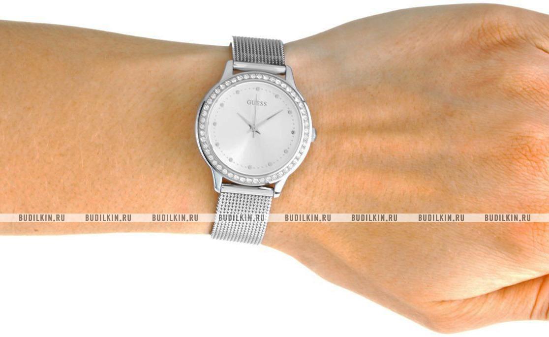 6681c5f8 Guess Dress Steel W0647L6 - купить часы по цене 9990 рублей ...