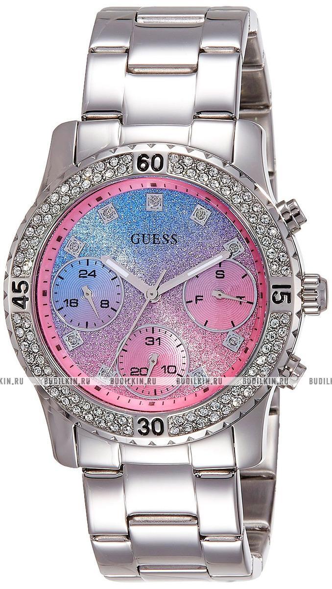 Купить женские швейцарские наручные часы Guess Confetti W0774L1 по ... 79ed609319172