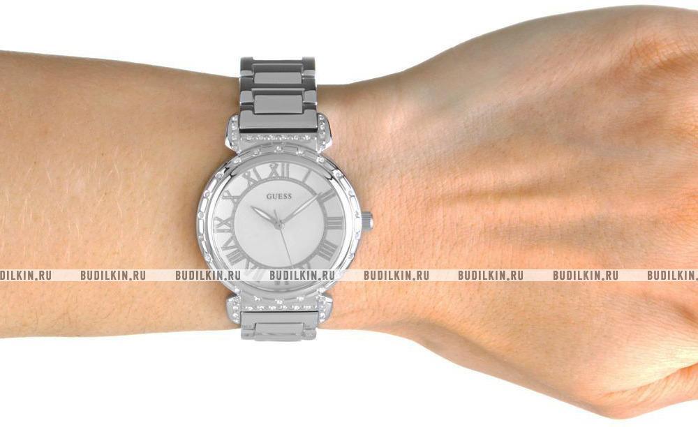 58b66cab Guess Dress Steel W0831L1 - купить часы по цене 12600 рублей ...