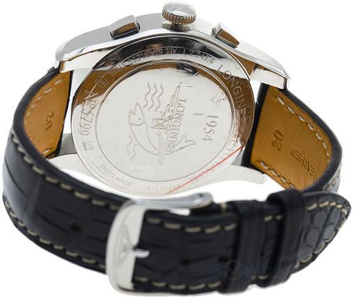 Фото швейцарских часов Мужские швейцарские наручные часы Longines HERITAGE L2.747.4.52.4