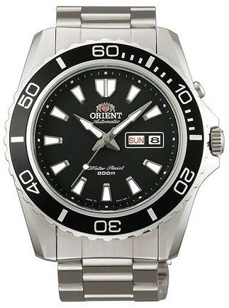 Мужские японские наручные часы Orient Diver Automatic FEM75001B ... 0eaf41d9f95