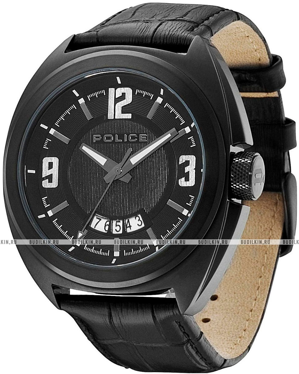 375a01f4708d Мужские итальянские наручные часы Police Gambler PL-13404JSB/02