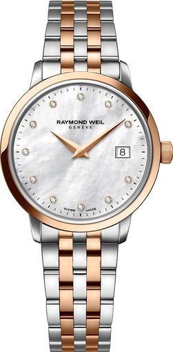 Женские швейцарские наручные часы Raymond Weil Toccata 5388-SP5-97081