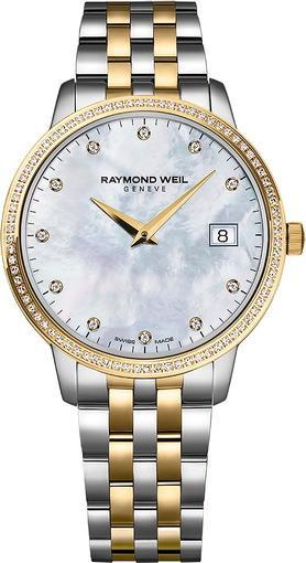 Женские швейцарские наручные часы Raymond Weil Toccata 5388-SPS-97081