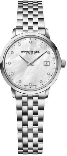 Женские швейцарские наручные часы Raymond Weil Toccata 5988-ST-97081
