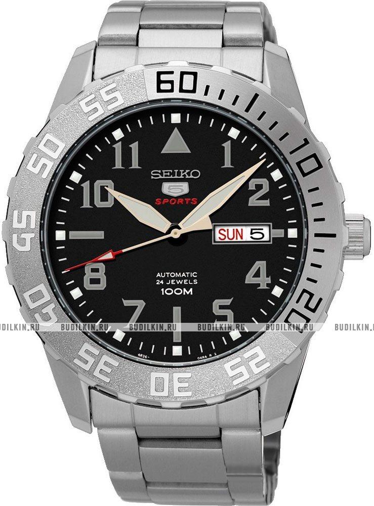 30d5f6bc76e0 Купить мужские японские наручные часы Seiko 5 Sports SRP755K1 по ...