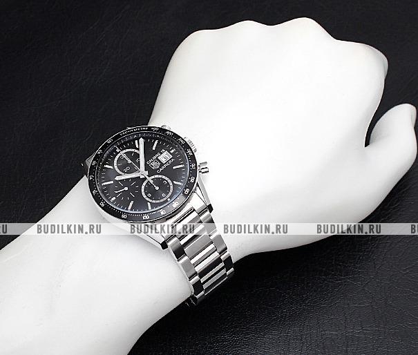 quality design b8d36 45494 Мужские швейцарские наручные часы TAG Heuer Carrera CV201AJ.BA0727