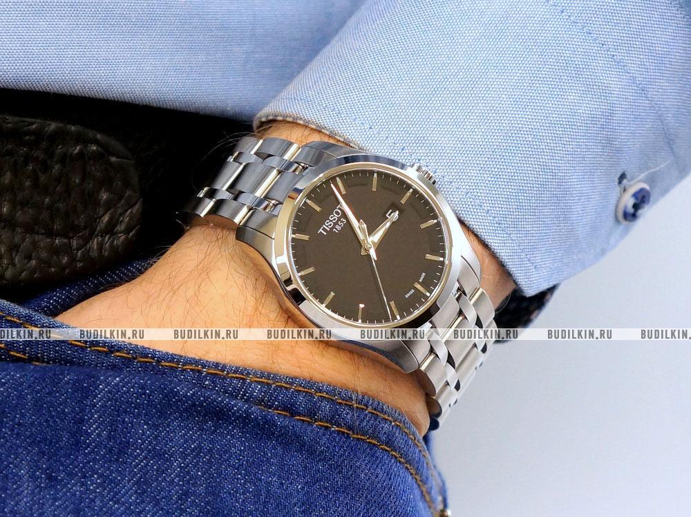 Часы тиссот мужские t035