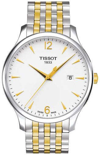 ef2f13ad8846 Фото швейцарских часов Мужские швейцарские наручные часы Tissot Tradition  T063.610.22.037.00 ...