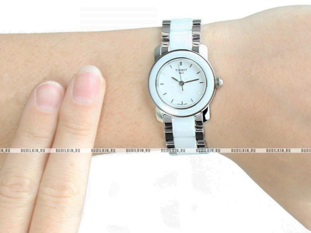 8477e73dbdce ... Женские швейцарские наручные часы Tissot T-Lady Cera T064.210.22.011.00