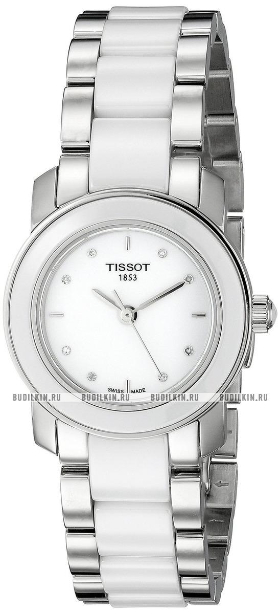 2c8fba0b505e Фото швейцарских часов Женские швейцарские наручные часы Tissot T-Lady Cera  T064.210.22.