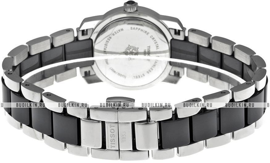2c192a3cfc5a ... Женские швейцарские наручные часы Tissot T-Lady Cera T064.210.22.051.00  ...