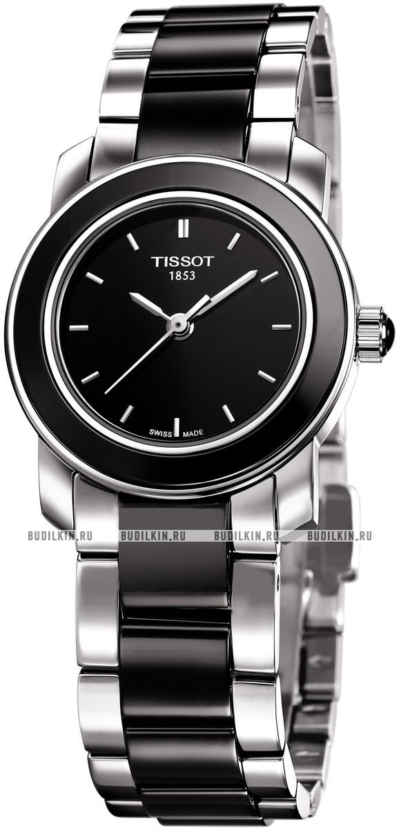 b2d279f1f0ad Женские швейцарские наручные часы Tissot T-Lady Cera T064.210.22.056.00 ...