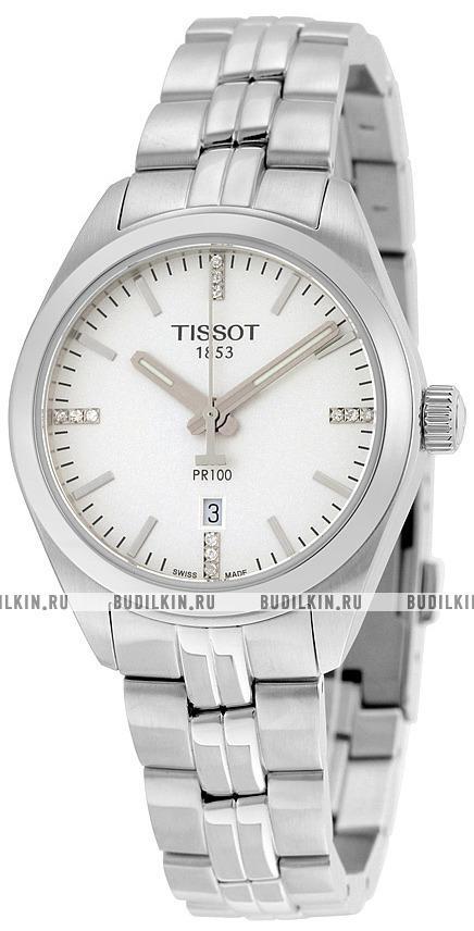 Часы наручные tissot pr100 известные бренды наручных часов цена